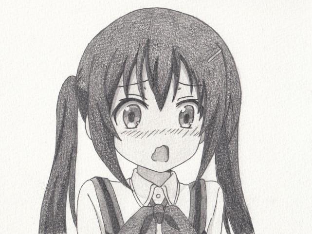「ごちうさ」リゼの模写絵